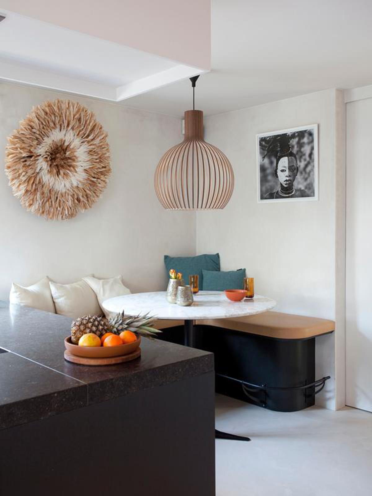 SWipe Bohemian interieurstijl eettafel