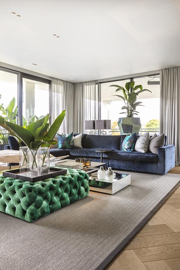Kleur penthouse rotterdam Anneke Gambon