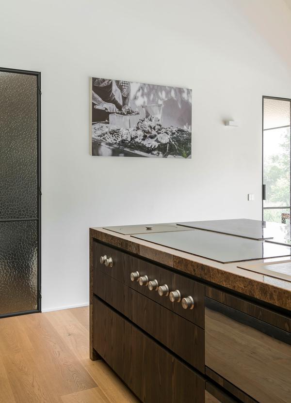 Kunst in de keuken / Interieurstijl Kosmopolitisch Swipe Stijlvol Wonen